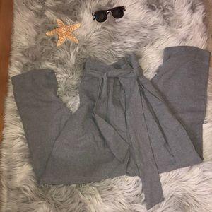 Long Grey Business Pants